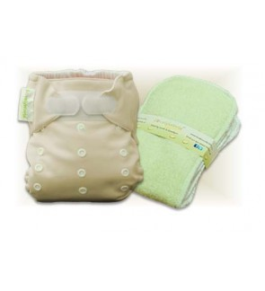 Mocha Cloth Diaper