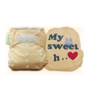 Creampuff  My Sweet Heart Diaper Cover Only