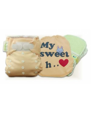 Creampuff My Sweet Heart Cloth Diaper